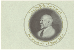 Du Bois Centennial: an 'international year