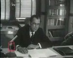 WALB newsfilm clip of Asa D. Kelley explaining reason for obtaining a federal injunction against civil rights demonstrators in Albany, Georgia, 1961 July 21