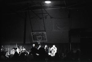 Taj Mahal in concert at Northfield, Mass.: band in performance