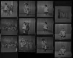 Set of negatives by Clinton Wright including family reunion, Trina & Bridget Daniels, baby contest, and Joyce Grayson, 1970