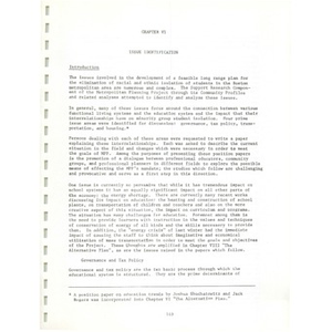Metro ways to understanding, A plan for the voluntary elimination of racial and ethnic isolation in the schools of the Boston metropolitan area (2 of 3): Volume I