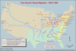 The second great migration, 1930-1980