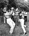 """Two street gangs hold boxing matches sponsored by civic groups"""