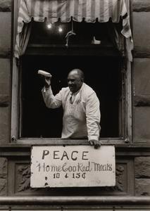 Cook at Father Divine Mission, Harlem