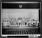 [Photograph of Lions Club Minstrel group, Waycross, Ware County, Georgia, 195-]