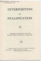 Interposition or Nullification