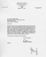 Letter: New Orleans, Louisiana, to James Dombrowski, New Orleans, Louisiana, 1960 October 13