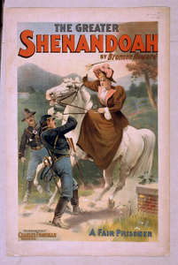 The greater Shenandoah by Bronson Howard.