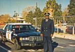 Banning. Calfiornia Police Officer Lou Davison