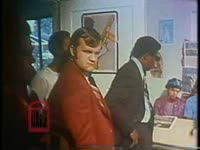 WSB-TV newsfilm clip of Huey P. Newton, co-founder of the Black Panther Party for Self-Defense, at a press conference announcing the move of the Panther's headquarters to Atlanta, Georgia, 1971 September 8