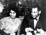 Paul Robeson and Marian Anderson