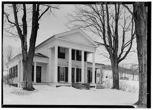 Thumbnail for Cyrus Gates House, Old Nanticoke Road, Maine, Broome County, NY