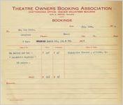 Agreement between the Theatre Owners Booking Association and Ben Stein, 1928 Feb. 14