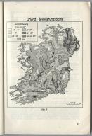 Abb. 4. Irland: Bevolkerungsdichte. (Fig. 4. Ireland: Population Density) Unternehmen Seelöwe (Operation Sea Lion - the Original Nazi German Plan for the Invasion of Great Britain) Fig. 4. Ireland: Population Density