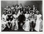 Howard U[niversity] Players / early 20s [ink on verso]. [Photoprint, negative ca. 1920s?]