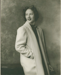 Freddie [or Fredi?] Washington / Actress [holding cigarette, close-up half-length view : photoprint, ca. 1930-1940.]