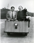 James N. Loughran, S.J., and Councilman Herb Wesson