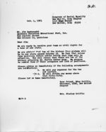 Letter: Des Moines, Iowa, to Jim Dombrowski, New Orleans, Louisiana, 1963 October 1