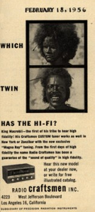Which Twin has the Hi-Fi?