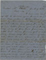 B.F. Gentry to W.R. and Mariah Gentry (22 August 1863)