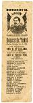 McClellan Ballot, 1864