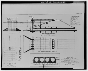 81  Photographic copy of original construction drawing dated