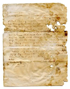 [Agreement for E.M. Pease's purchase of slave named Mary Ann from J.M. Prewitt]
