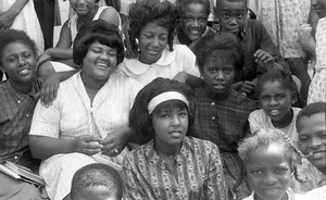 Students at a Freedom School during Freedom Summer, Mississippi, 1964