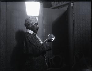 Prof. C. Alvin Braganza, crystal gazer