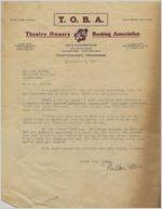 Letter: Nashville, Tennessee to Ben Stein, Macon, Georgia, 1927 Sept. 7