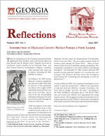 Reflections: Georgia African American Historic Preservation Network [Vol. 14, no. 1 (June 2017)] Reflections (Georgia African American Historic Preservation Network)
