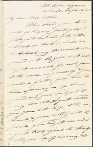 Letter from Joseph Lupton, Leeds, [England], to Mary Anne Estlin, 1850 Sept[ember] 13