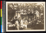 Party for Miss Dowling, Shaoxing, China, 1915