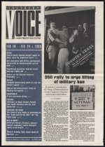 Southern voice, February 18 and 24, 1993