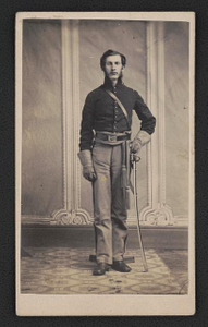 [Captain James B. Loomis of Co. A and Co. M, 7th Michigan Cavalry Regiment in uniform]
