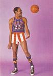 Jackie Jackson Harlem Globetrotters Card