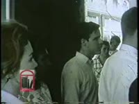 WSB-TV newsfilm clip of civil rights workers protesting segregation at Leb's Restaurant and S & W Cafeteria in Atlanta, Georgia, 1963 May 20