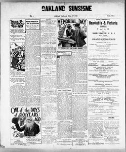 Oakland Sunshine (Oakland, Calif.), Vol. 13, No. 1, Ed. 1 Monday, March 29, 1915 Oakland Sunshine