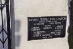 Bryant Temple A.M.E. Church cornerstone