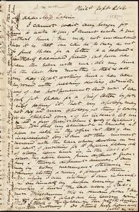 Letter from James Miller M'Kim, Philadelphia, [Pennsylvania], to Mary Anne Estlin, [1855] Sept[ember] 21