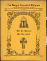 The Negro journal of religion, vol. 6, no. 2, 1940