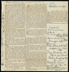 Letter from Theodore Bourne, New York City, N. Y., [ca. 1897]