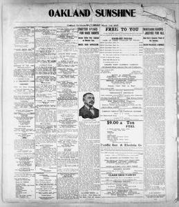 Oakland Sunshine (Oakland, Calif.), Ed. 1 Saturday, March 20, 1915 Oakland Sunshine