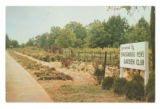 View of tract of land maintained by the Spartanburg Men's Garden Club