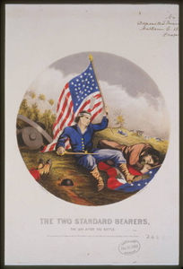 The two standards bearers, the day after battle