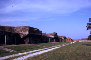 Rearview of Battery Jasper, Fort Moultrie, South Carolina