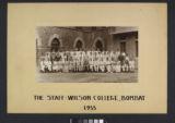 Staff, Wilson College, Bombay, 1955