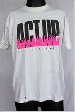 ACT UP Atlanta [t-shirt], circa 1980s