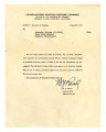 Letter from B. Y. Read, Colonel, AGD Adjutant General Western Defense Command, to Atsushi Ishida, September 4, 1945