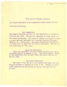 Women and Niagara Movement Membership